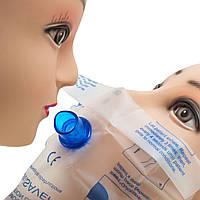CPR реанимационное рот респираторной рот щиток для лица маска с одним ходовым клапаном