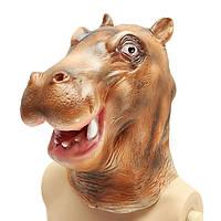 Hippo River Horse Маска Creepy животных Хеллоуин костюм театр Prop партии Cosplay