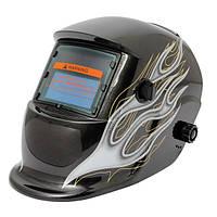 Черное пламя солнечных автоматического затемнения маски сварщика сварочный шлем