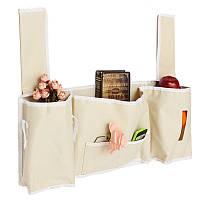 Кровать настенный сумка для хранения 5 карман прекрасные декоративные вешалки мешок