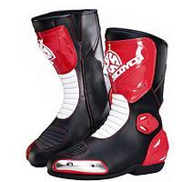 Мотоцикл среднего сапоги Мотокросс езда гоночных защитная обувь scoyco mbt004