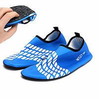 Мужчины / женщины синий прибой тумблеры цвета морской волны вода пляж носки воды плавательных обувь