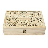 70 Слоты деревянные Резные Дело Контейнер Эфирные масла коробки для хранения