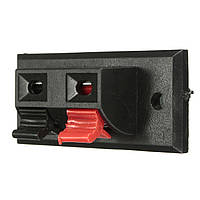 2 штук Audio Speaker Terminals Test пружинные клеммы Зажим AC 50V 3A