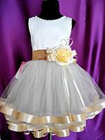 Платье детское праздничное. Размеры от 3 до 10 лет