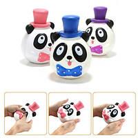 1PC 14CM Jumbo Panda Cake Squishy Шарм Soft Медленный Восходящий мобильный телефон Аксессуары Игрушка