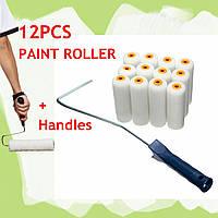 13pcs валики поделок декоративные ручки наборы кисти, инструмент