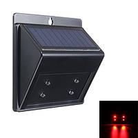 Солнечные Predator противоугонных 4 LED Light Sensor животных Отпугиватель Открытый лампы