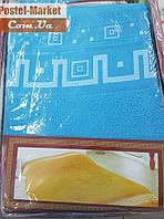 Махровая простынь бирюзовая Хлопок Zeron (200х220)