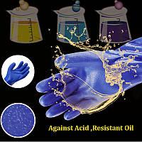 301 Масло Acid Щелочные Proof Водонепроницаемые перчатки Промышленные пластиковые резиновые перчатки