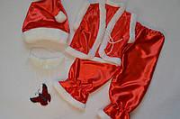 Детский новогодний карнавальный костюм Гнома (красный) 3-7 лет