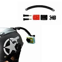 MAX шлем крепится рука селфи держатель палки для Xiaomi Yi Gopro SJcam SJ4000 спортивная камера Gopro sj5000x Экен