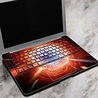 Вол Вселенная экспозиции ноутбук Декаль наклейки беспузырьковый самоклеящаяся для Macbook Air 13 дюймов