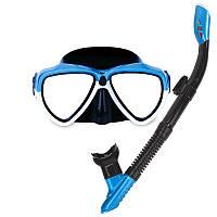 IPRee Летний дайвинг очки очки с дыхательной трубкой Силикон Полный сухой Дайвинг плавательный МОРСКИЕ маски