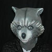Медведь маска Creepy животных Хеллоуин костюм театр Prop партии Cosplay Делюкс Latex