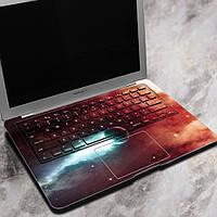 Вол скорость света превысить ноутбук Декаль наклейки Безпузырьковый самоклеящаяся для Macbook Air 13 дюймов