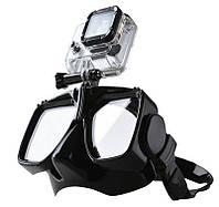 e3950aacdfe7 IPRee Летний дайвинг Очки с камера Стенд кронштейн Силиконовый Анти Туман  плавание с маской и трубкой