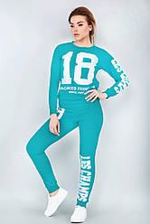Спортивный костюм 18 (темная мята)