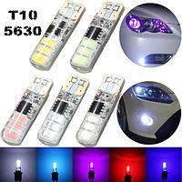 T10 5630 6smd LED боковыми габаритными свет проблескового огня 120lm ширина взрыва