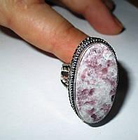 """Серебряный перстень  с натуральным чароитом """"Май"""" , размер 19 от студии LadyStyle.Biz, фото 1"""