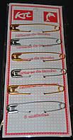 Набор английских булавок в блистере (7,5 х 1,5 см)