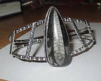 """Шикарный серебряный браслет с ортоцерасом  """"Куколка"""" ,  от студии LadyStyle.Biz, фото 1"""