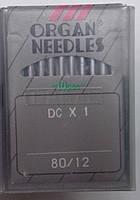 """Иглы для промышленного оверлока """"ORGAN NEEDLES"""" DСx1 №70"""