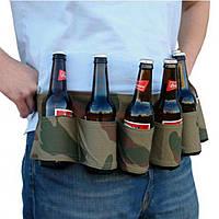 6 Pack Пивная сода Ремень Напитки Пиво Ремень Держатель Bottlr Carrier для На открытом воздухе Кемпинг Party
