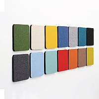 Honana DX-174 10PCS Творческий Красочный Переплет Wool Войлок Многофункциональный стикер стены Смарт сбор платы