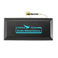Arkbird Оригинал High Gain 5.8GHz 12дБ Double Biquad Long Range Направленная антенна SMA FPV
