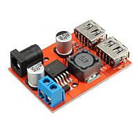 10шт DC-DC 9V / 12V / 24V / 36V к 5V Dual USB Buck модуль автомобиля зарядки солнечной 3A регулятор напряжения совета