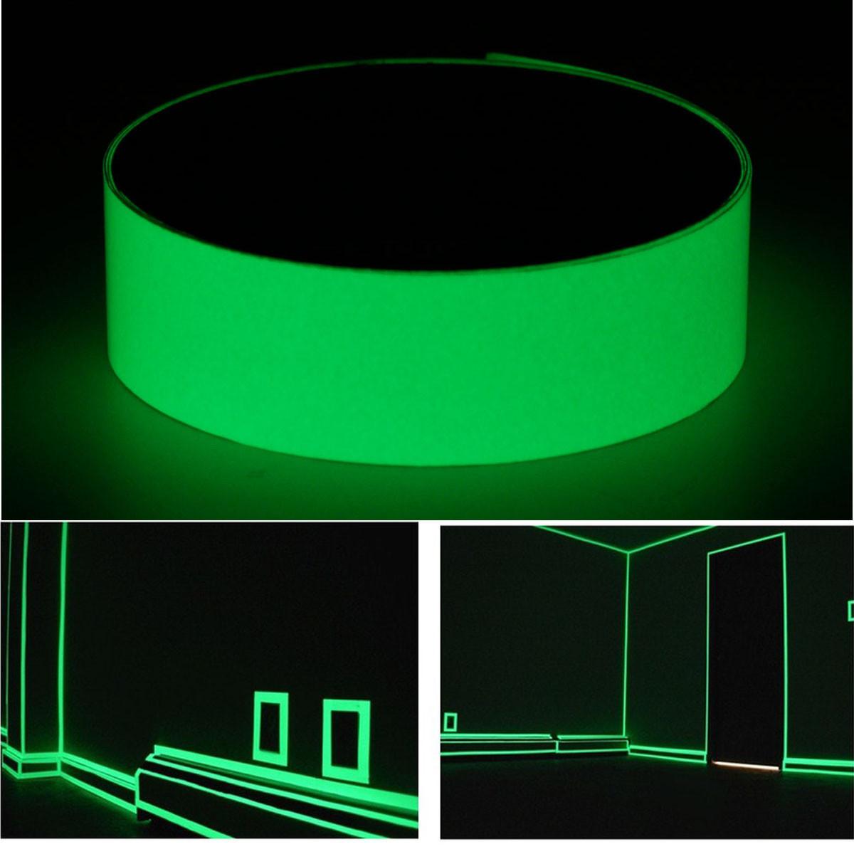 1MX25MM Световая лента самоклеящаяся Светящиеся в темноте безопасности Stage Home Decor - ➊TopShop ➠ Товары из Китая с бесплатной доставкой в Украину! в Днепре
