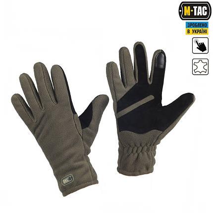 Перчатки тактические зимние Winter Tactical Windblock 380 оливковые, фото 2