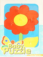 Развивающая игрушка Цветок Baby puzzles, Wader