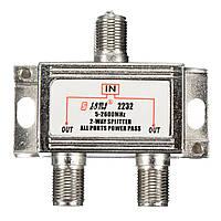 3 шт 2 способ 5-2600mhz телевидение спутниковое Кабельный разветвитель объединитель для неба Virgin Media сигнала