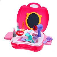 Девушка играть дома макияж инструмент Косметический набор Playset Притворись Ролевая игра Классический Simulation игрушки для малышей