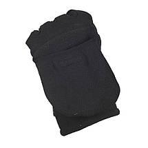 Рукавички зимові безпалі з клапаном Windblock 295 чорні, фото 3