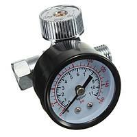 1/4inch регулируемые регулятор давления воздуха набора воздушные инструменты мини датчик HVLP Пистолеты