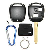 2 Кнопки дистанционного ключа FOB чехол с брелоком для Toyota Yaris Основного Hatchback