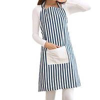 Honana KT-AP1 Регулируемая Большого размер Bib Фартук Кухня Кухня Женщина Мужчина нашивка белье Фартук с карманом