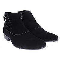 Ботинки мужские замшевые на флисе Lapostolle 3625-С01