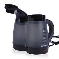 Loskii LH-365 Портативный двойной электрический чайник Steam Iron 600W 220V Extreme Heat Water с двумя крышками