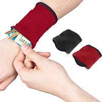 Honana HN-B9 3 цвета Zipper Wristband Организатор карманные карты монет ключ сумка для хранения Спорт Wallet