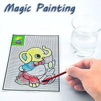 5шт магические воды:картины ватмана ручки коврики Дети обучения детей развитие игрушки