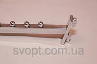 Кронштейн (Флейта) квадратная в рейку