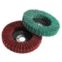 100мм 120/240 грит волокна нейлона колесо абразивное полирующее полировка диска