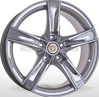 Литые диски Storm Henessy HSInoxF 7.5x17/5x112 D66.6 ET45 (Hyper Silver Inox Face)