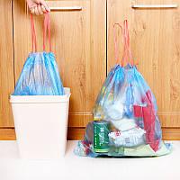 Случайный цвет струн утолщаются кухня бытовой автоматический мусорный бак бен мусора мусора пластиковый мешок