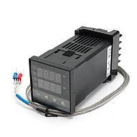 Цифровой REX-C100 Регулятор температуры с термопарой типа K