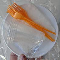 Набор одноразовой посуды 4в1